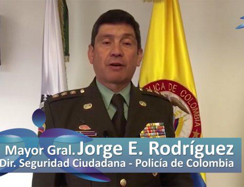 Mensaje de Jorge E. Rodríguez Peralta, Policía Nacional de Colombia