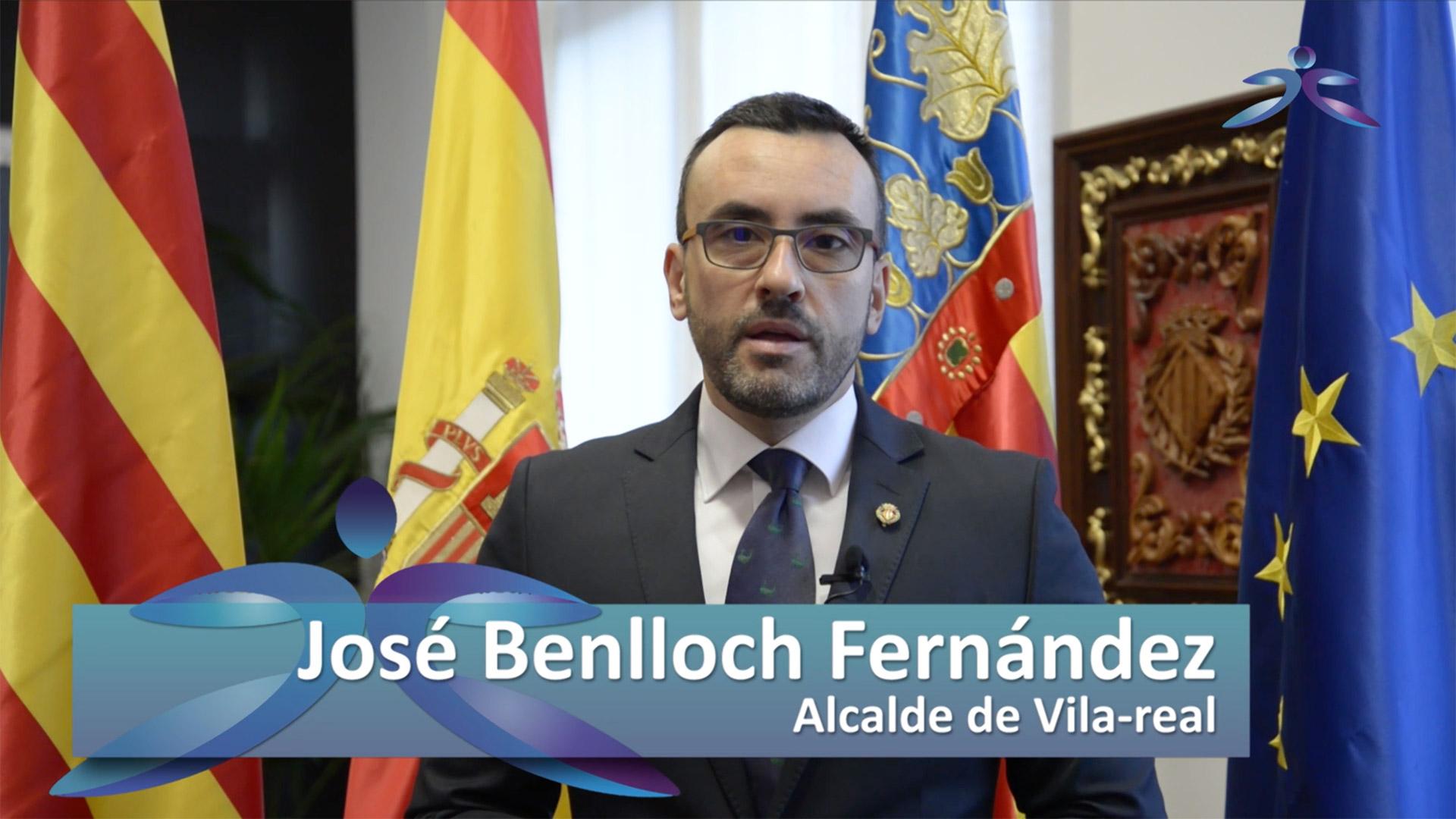 José Benlloch Fernández, alcalde de Vila-real