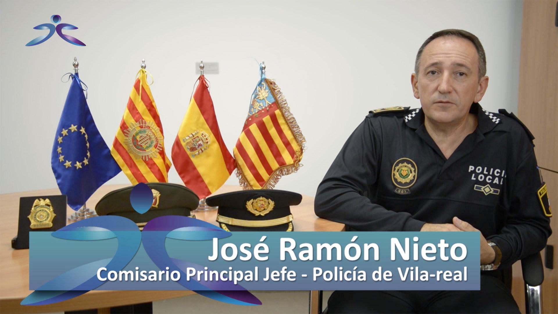 José Ramón Nieto Rueda, comisario principal de la Policía Local de Vila-real.