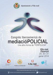 Programa del I Congreso Iberoamericano de mediación policial (2014)