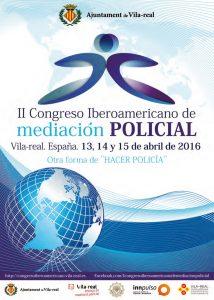Programa del II Congreso Iberoamericano de Mediación Policial (2016)