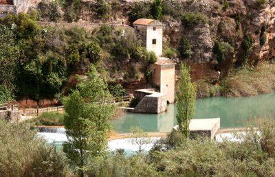 Azud del rio Mijares a su paso por El Termet (Vila-real)