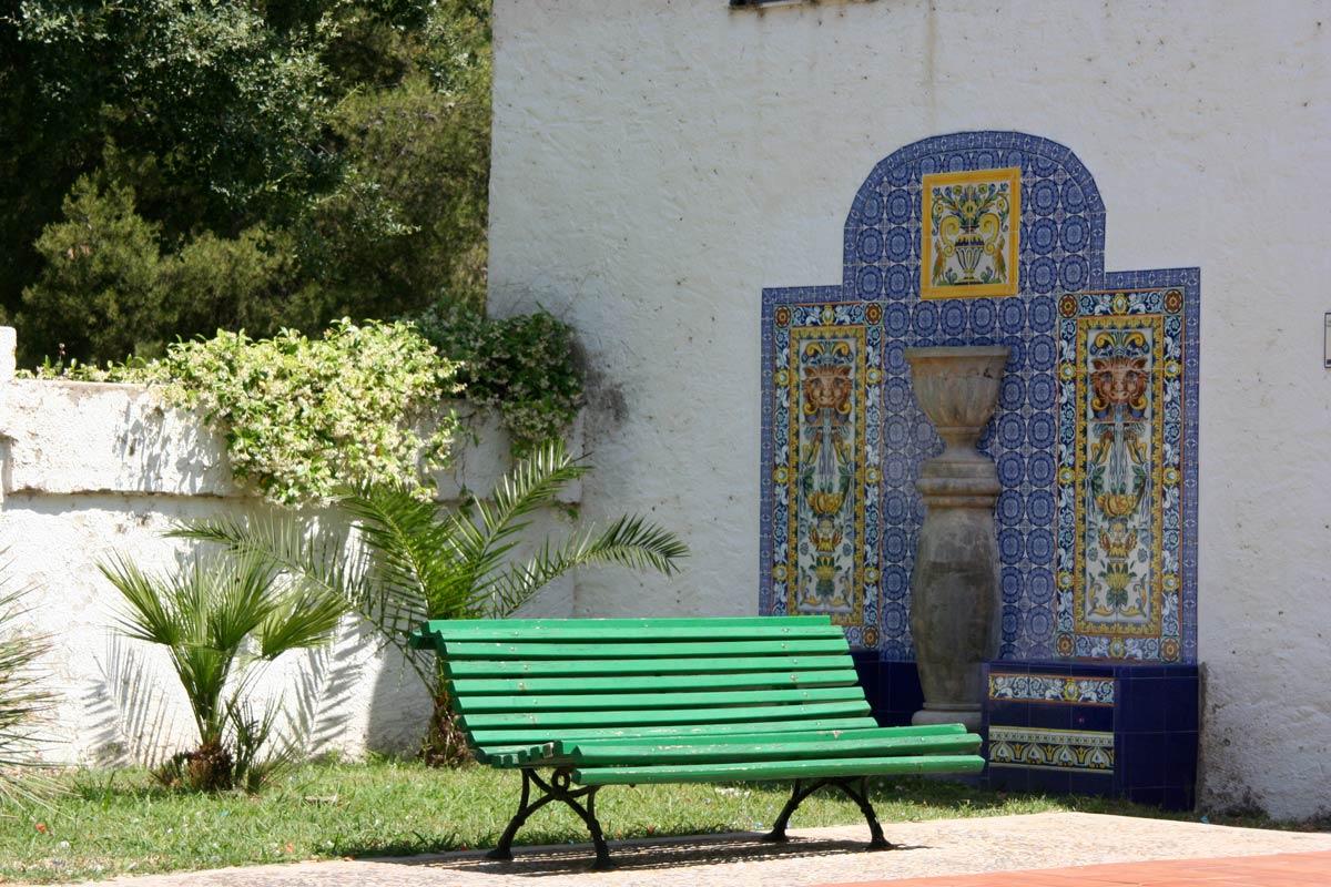Decoración cerámica en El Termet (Vila-real)