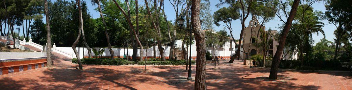 Plaza del la Ermita de la Virgen de Gracia en El Termet (Vila-real)