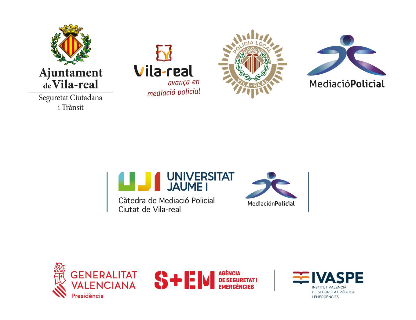 Ajuntament de Vila-real; Càtedra de Mediació Policial Ciutat de Vila-real de la UJI; Agenciándome de Seguretat i Emergències
