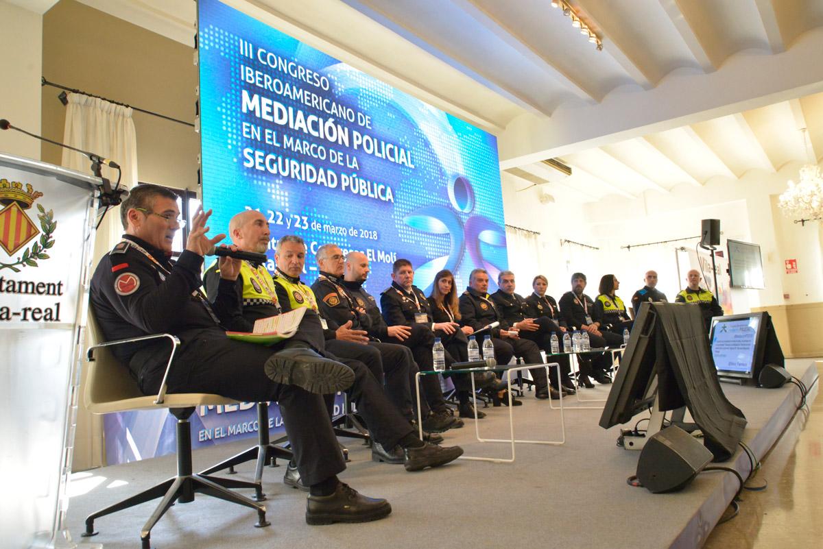 Fotos del Congreso de Mediación Policial 22-marzo-2018