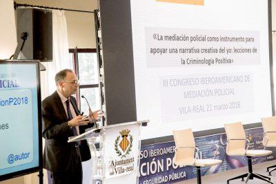 Fotos del Congreso de Mediación Policial 21-marzo-2018
