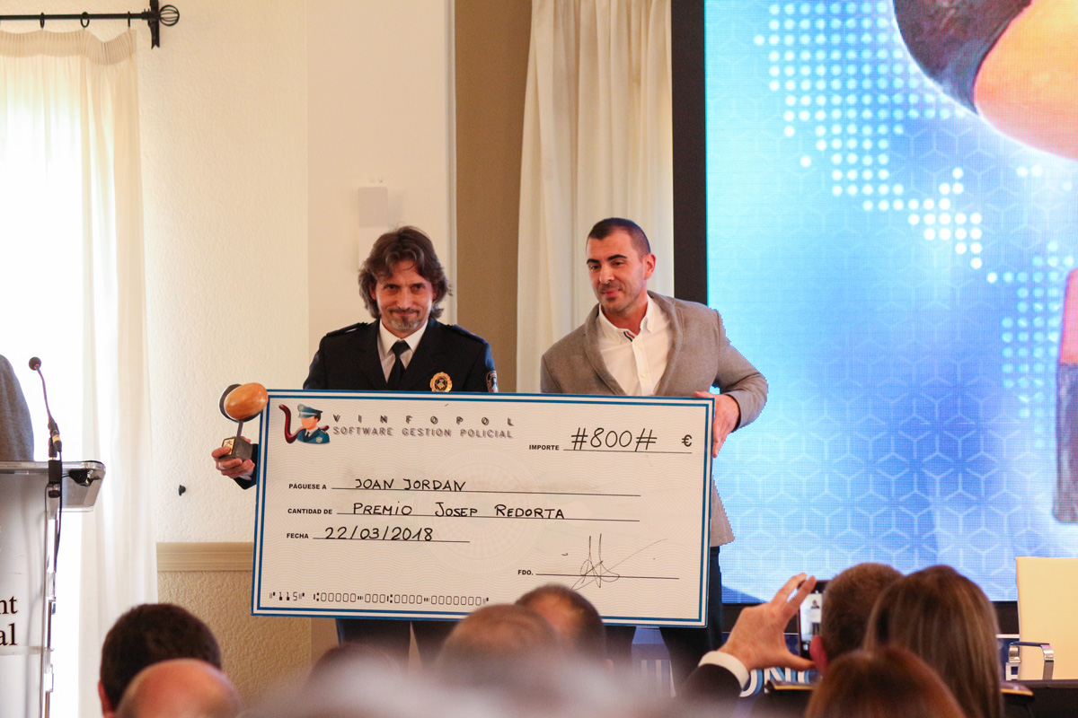 Joan Jordan, Premio Josep Redorta 2018