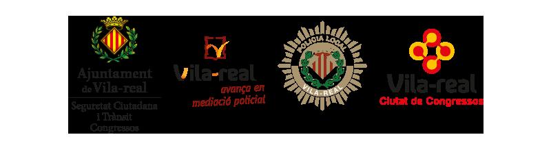 logos Ajuntament de Vila-real - Policia Local - Ciutat de Congressos