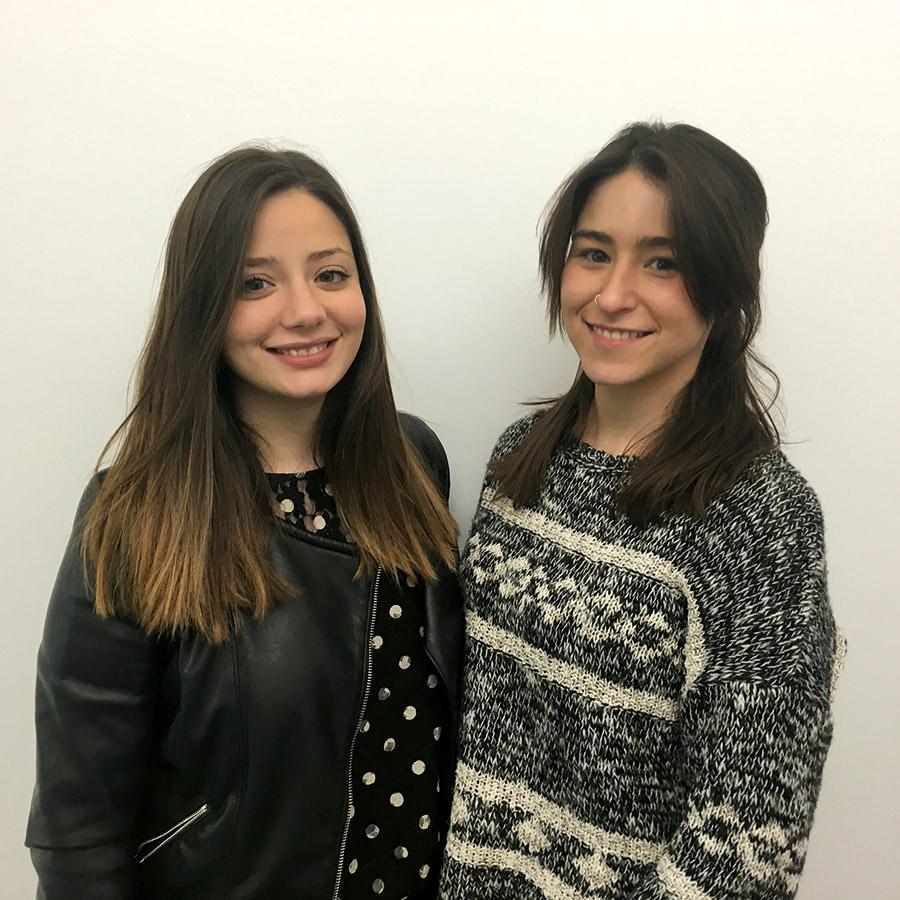 Paula Tárraga Bono y Nuria Garcia-Córcoles Garcia