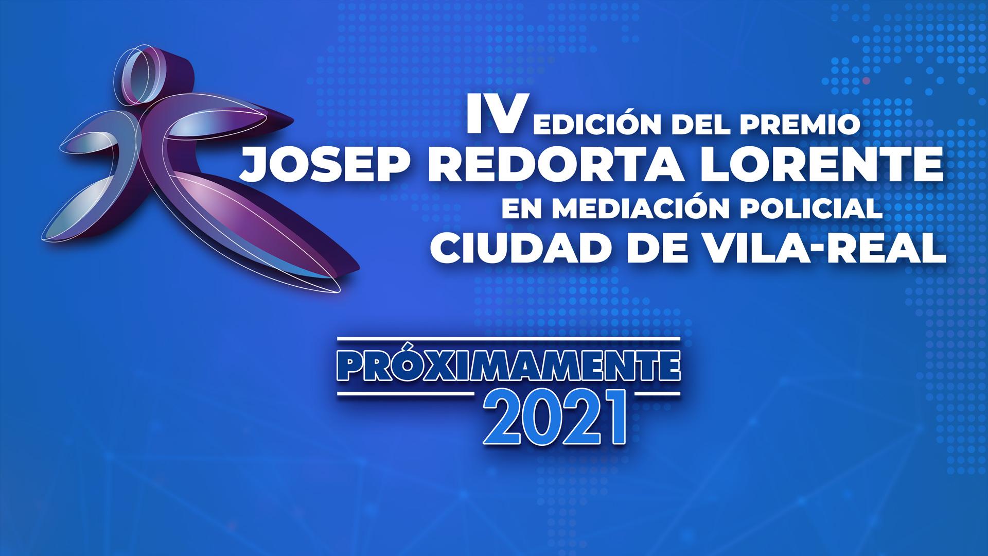 IV Edición del Premio Josep Redorta Lorente en Mediación Policial ciudad de Vila-real
